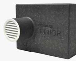 Silenziatore acustico per fori di ventilazione isolmant junior for Foro areazione cucina
