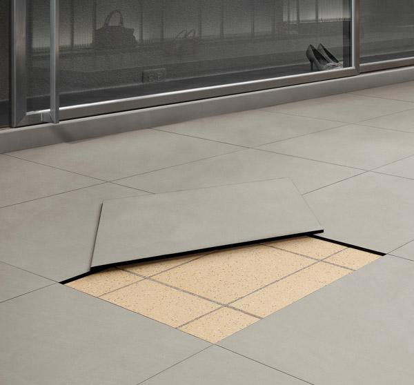 Xacta pavimento autoposante - Piastrelle senza fughe ...