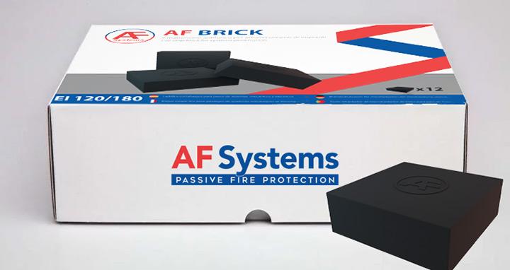 AF Brick di AF Systems: mattoncini in spugna poliuretanica intumescente