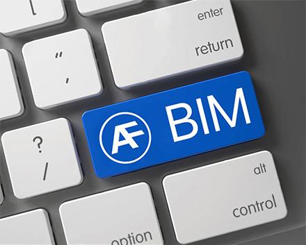 Prodotti della gamma AF Systems in formato BIM
