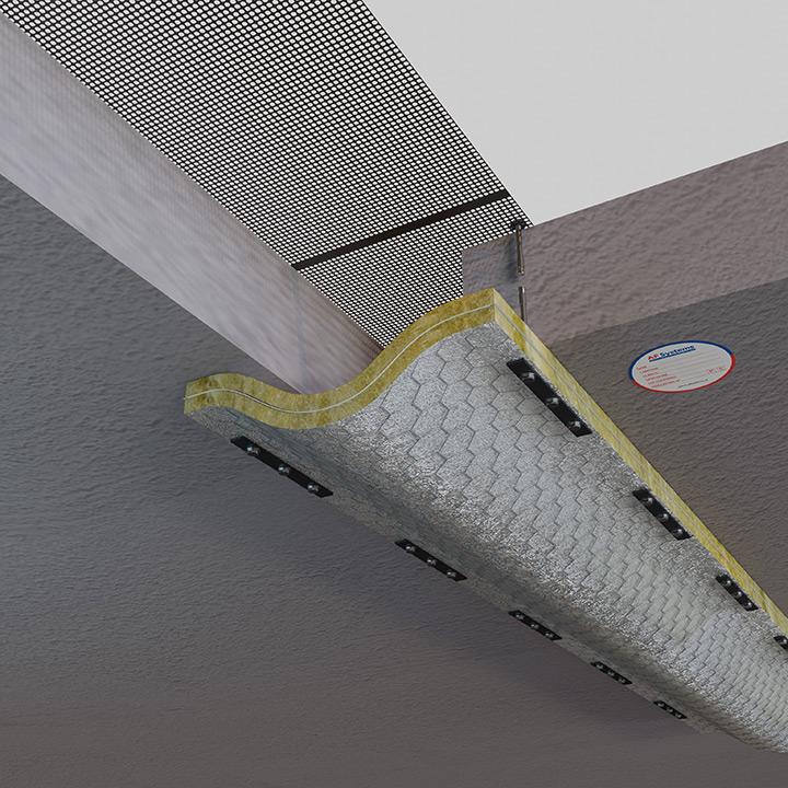 AF SEISMIC JOINT - Protezioni antifuoco per giunti di dilatazione con movimento