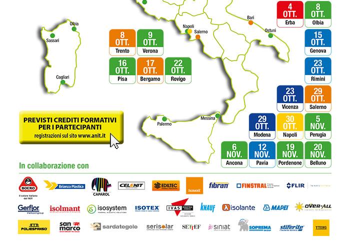 Previsti crediti formativi per i partecipanti. Registrazioni sul sito anit.it