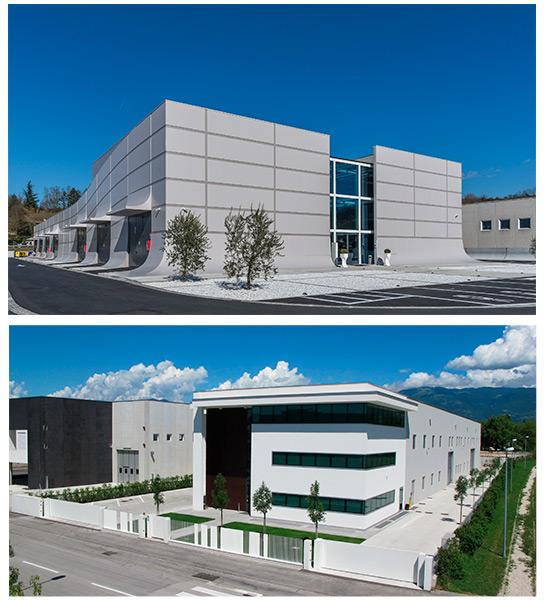 Baraclit, Architettura Industriale