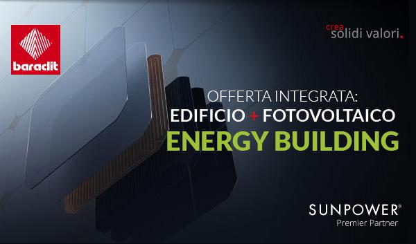Baraclit - Offerta integrata: edificio + fotovoltaico Energy Building