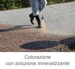 DrainBeton - Colorazione con soluzione mineralizzante