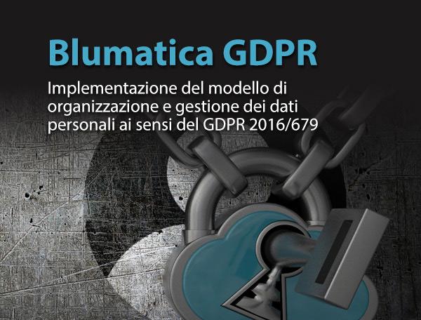 Blumatica GDPR