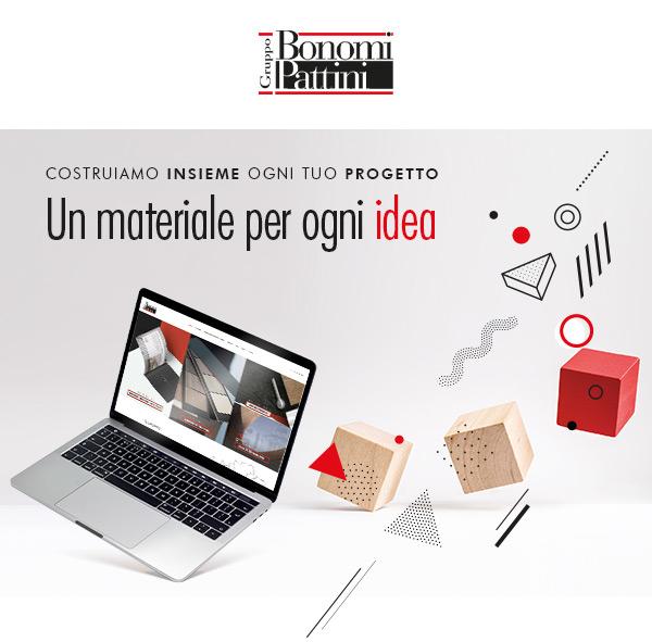 Bonomi Pattini - Costruiamo insieme ogni tuo progetto. Un materiale per ogni idea.
