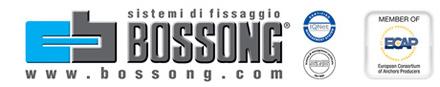 Bossong: sistemi di fissaggio