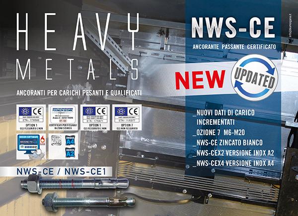 Heavy metals - Ancoranti per carichi pesanti e qualificati