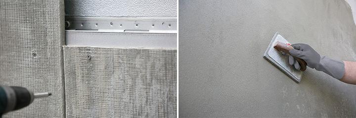 Isotec Parete con Elycem: soluzione completa per facciate ventilate con finitura ad intonaco
