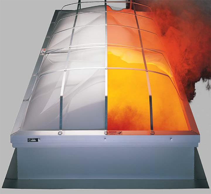 Evacuatori di fumo e calore APC Dayliter