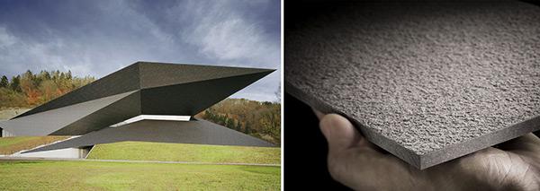 Fibre cement facade materials