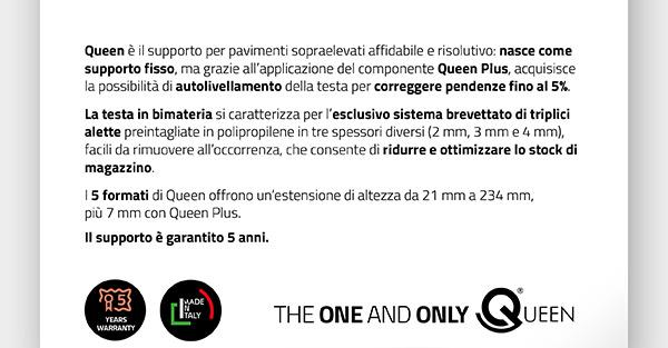 Sistema Queen: pensiero originale