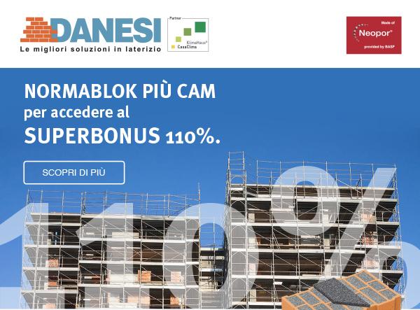 Danesi - NormaBlok Più CAM per accedere al Superbonus 110%