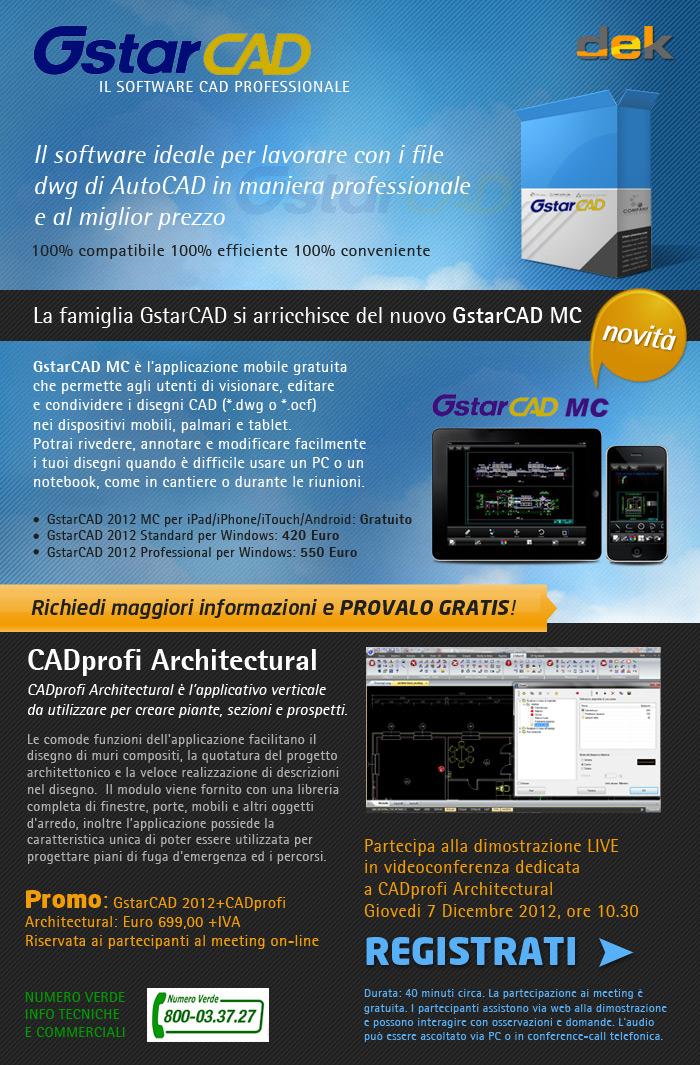 GstarCAD Il software ideale per lavorare con i file dwg di AutoCAD in maniera professionale e al miglior prezzo