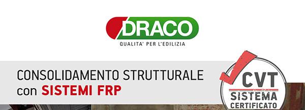 Draco - Consolidamento strutturale con sistemi FRP