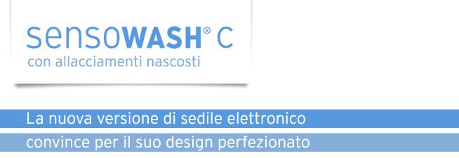 Sensowash con allacciamenti nascosti - La nuova versione di sedile elettronico convince per il suo design perfezionato