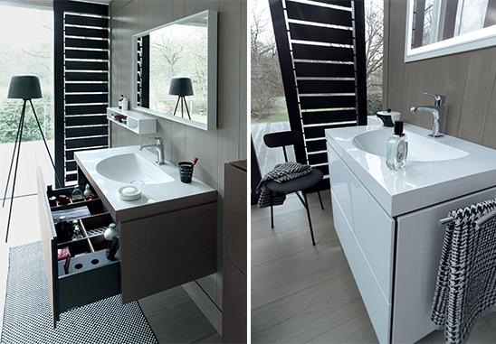 Nuova tecnologia: lavabi e mobili sembrano un unico prodotto