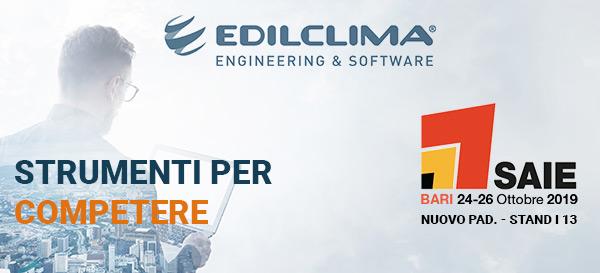 Edilclima - SAIE Bari 24-26 Ottobre 2019 - Nuovo pad. - Stand I 13