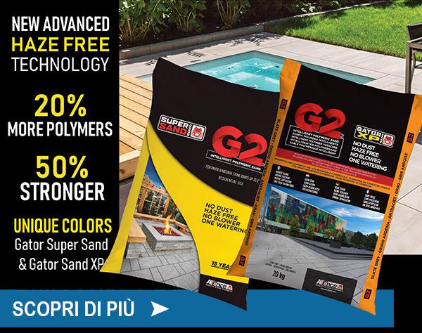 Gator Super Sand G2 e Gator Sand XP G2. Scopri di più