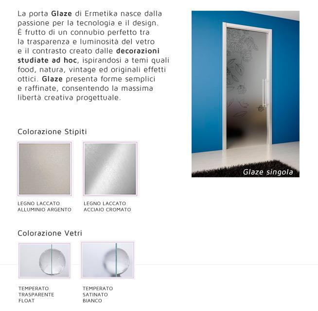 La porta Glaze di Ermetika nasce dalla passione per la tecnologia e il design