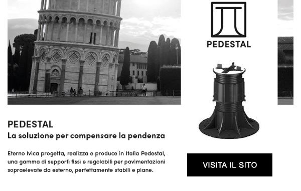 Pedestal, la soluzione per compensare la pendenza.
