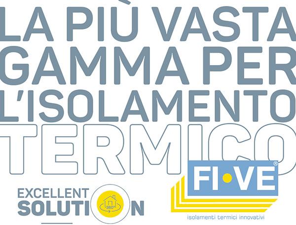La più vasta gamma per l'isolamento termico FI-VE