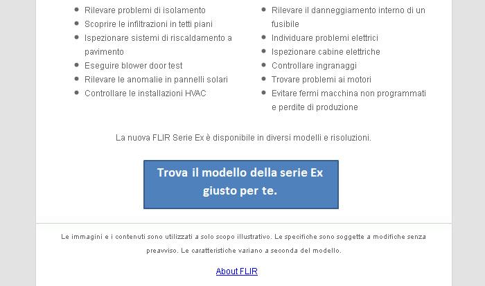 Fai sul serio con la termografia: scopri le nuove termocamere della serie FLIR Ex