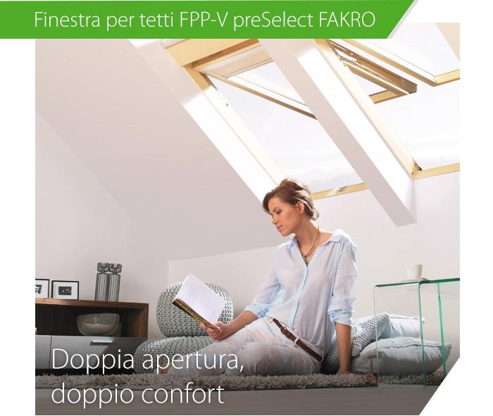 Finestra per tetti FPP-V preSelect FAKRO