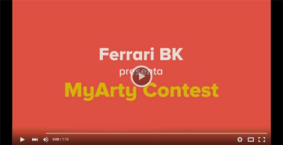 Ferrari BK presenta MyArty Contest