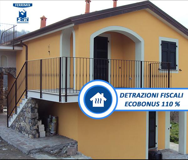 Detrazioni fiscali Ecobonus 110%