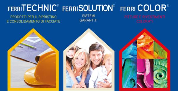 Ferri TECHNIC - Ferri SOLUTION - Ferri COLOR