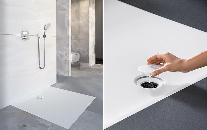 Superficie doccia Geberit Setaplano