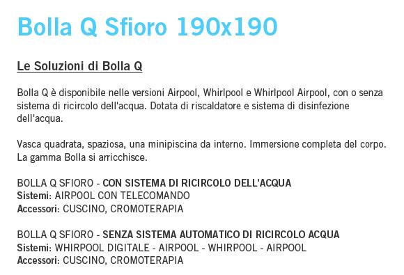Bolla Q Sfioro - Idromassaggio rigenerante