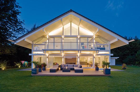 Ville in legno moderne interno casa di legno jpg with - Foto di case moderne ...