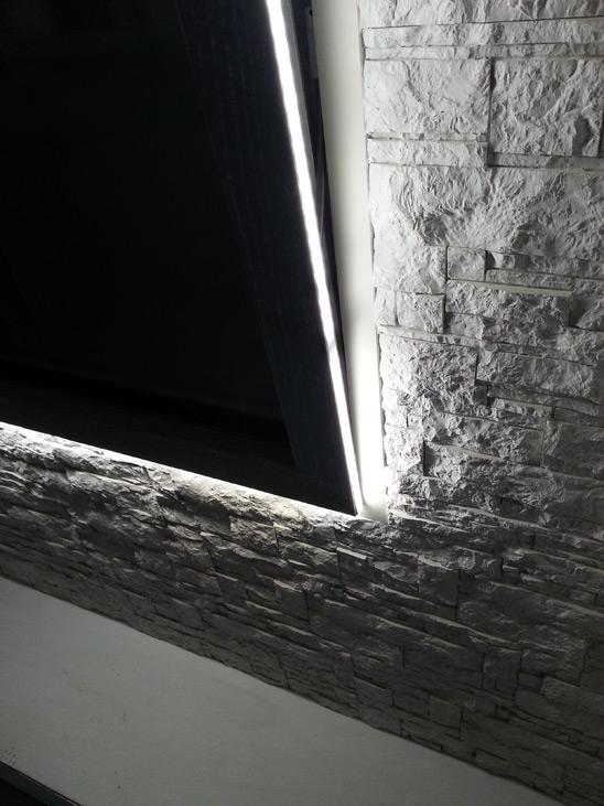 finestra che diventa una lampada