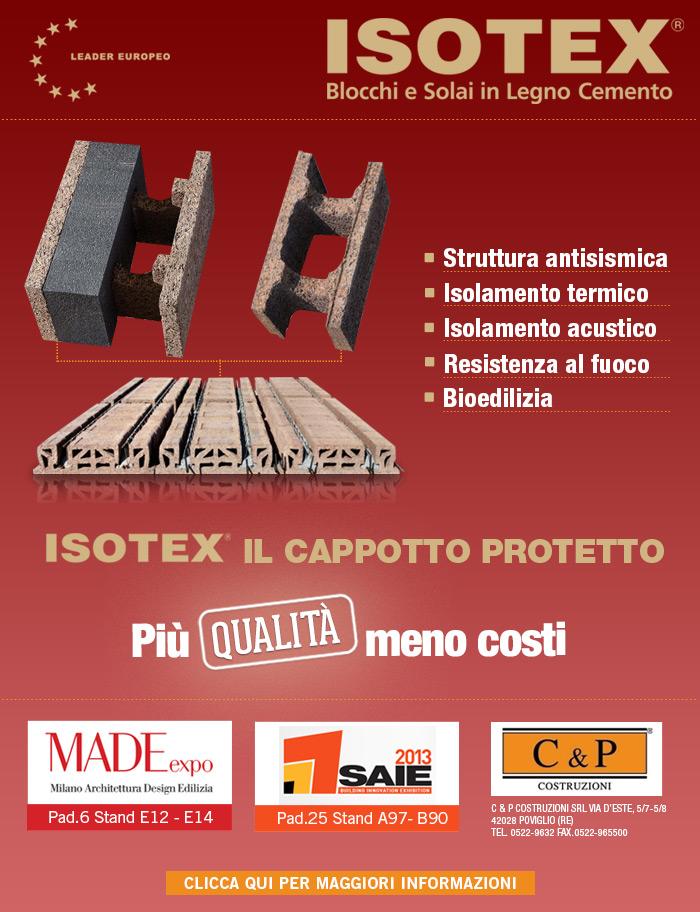 ISOTEX IL CAPPOTTO PROTETTO