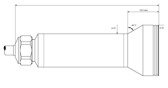Trasmettitori di Livello con Membrana in Kynar® - Serie 36 XKY