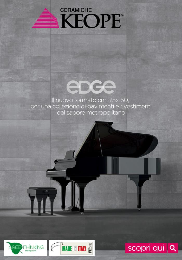 Scopri il carattere di Edge di Ceramiche Keope, la nuova collezione di pavimenti in gres porcellanato!