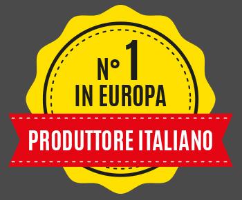 N°1 in Europa - Produttore italiano