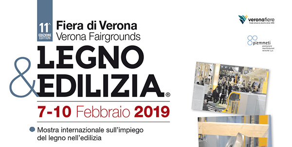 Legno & Edilizia. 7-10 Febbraio 2019.