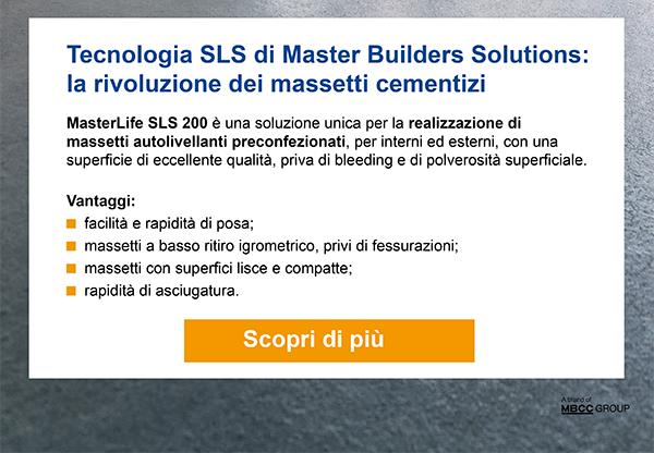 Tecnologia SLS di Master Builders Solutions: la rivoluzione dei massetti cementizi. Scopri di più