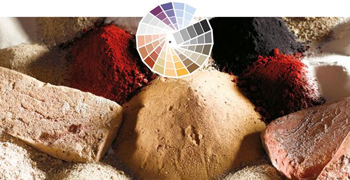 Pigmenti naturali per colori intensi e brillanti.