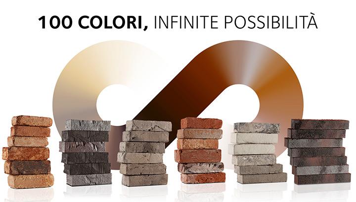 100 colori, infinite possibilità
