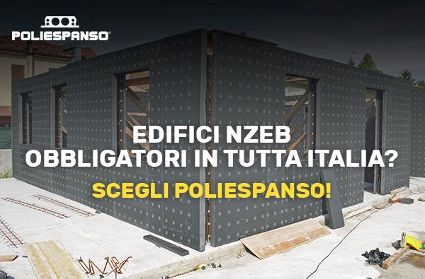Edifici nZEB obbligatori in tutta Italia? Scegli Poliespanso