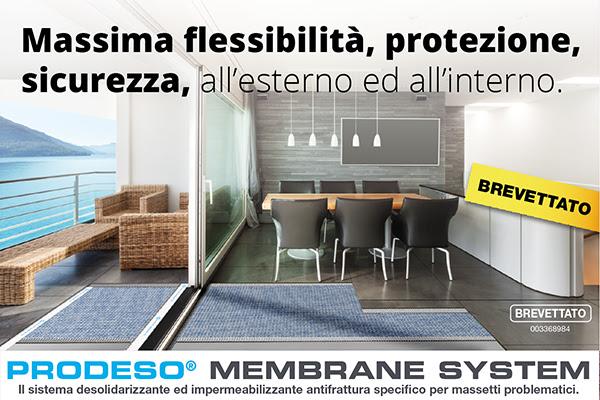 Massima flessibilità, protezione, sicurezza, all'esterno ed all'interno.