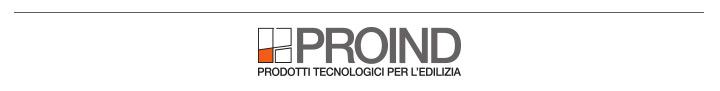Proind - Prodotti tecnologici per l'edilizia