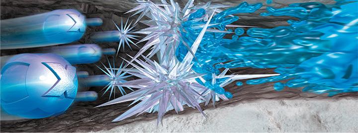 XYPEX crea un'impenetrabile barriera all'acqua, garantendo maggior durata del calcestruzzo