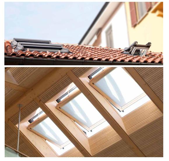 Finestre per tetti e accessori