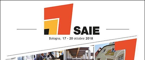 SAIE - Bologna, 17 – 20 ottobre 2018